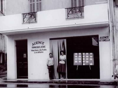 L'agence en 1963