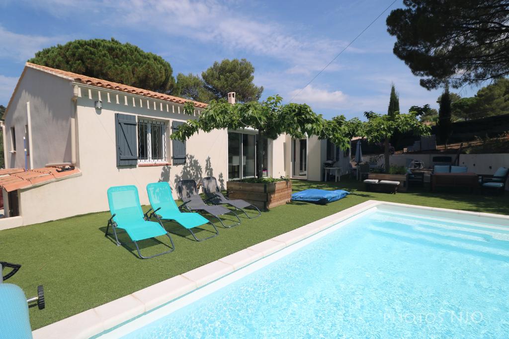 Vente achat maison villa roquebrune sur argens 83520 - Deux maisons sur un seul terrain ...